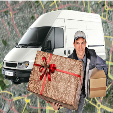 Drivers Using GPS Tracking to Deliver Gifts Part 1