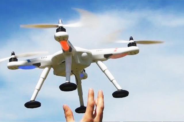 Drone with GPS