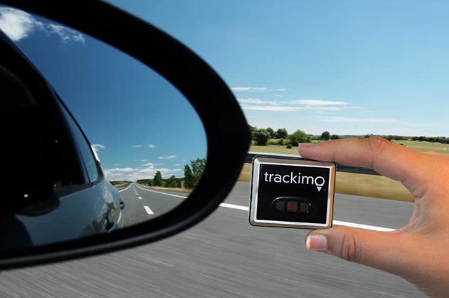 Trackimo in a Car