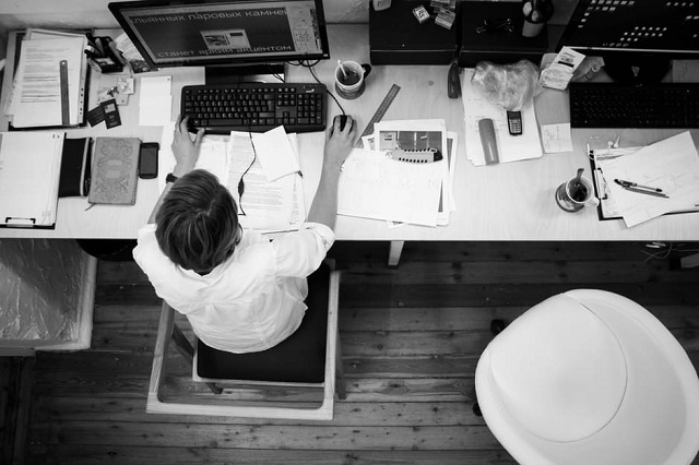 Employee's Workspace