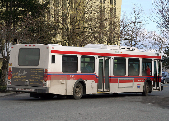 GPS Tracking on Campbell River City Buses