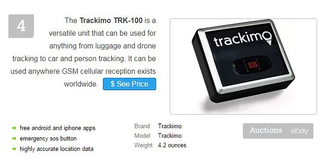Trackimo Ranked #4 as Best GPS Tracker for 2016