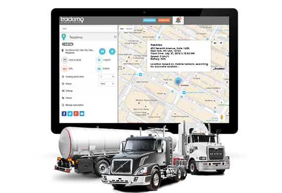 Trackimo oil & gas gps tracking app