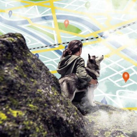 Track Dog Walkers Using GPS Tracker
