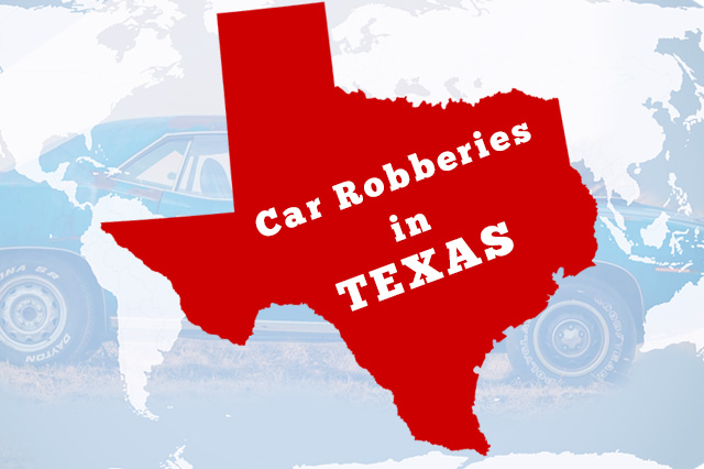 Car Robberies in Texas