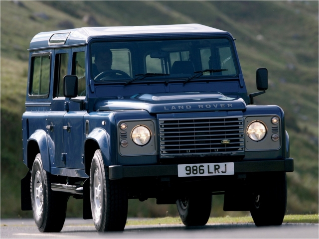 Land Rover Defender Puma 2007