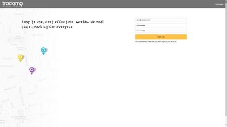 Trackimo Registration