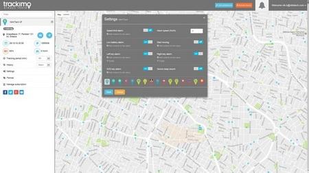 Trackimo Map Overlay