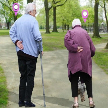 Keep Elderly Safety Using GPS Tracker