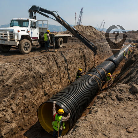 How GPS Tracking Can Help in Pipeline Construction Projects