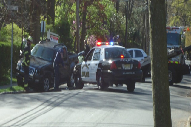 Car Crash Involving Teen Driving