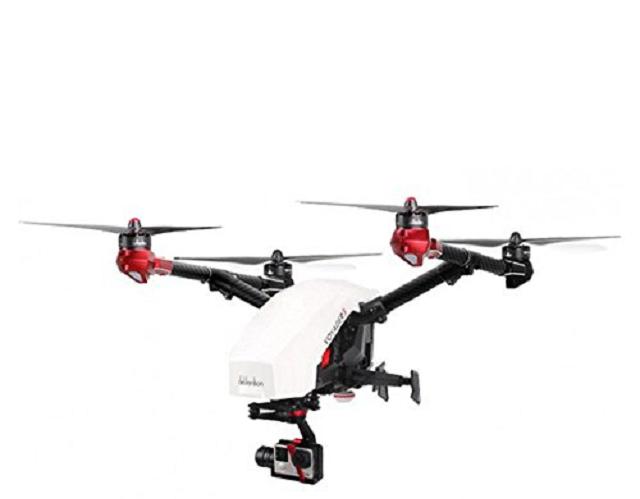 Voyager 3 GOPRO UAV DEVO F12E RC Drone Quadcopter Gound Station Gimbal