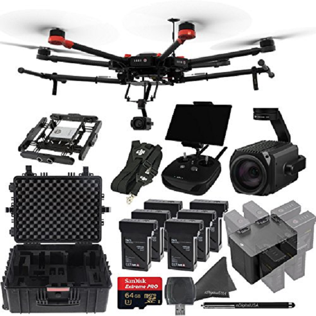 DJI Matrice 600 PRO Hexacopter Arial System