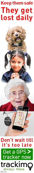 Kids, Elderly, Dogs banner 120 x 600 (KED-02)