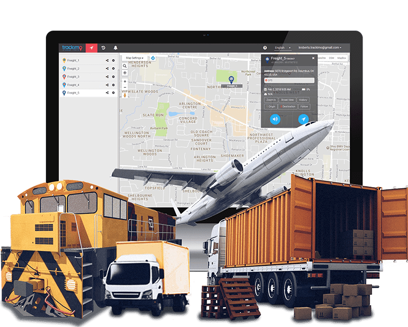 Freight Tracking App
