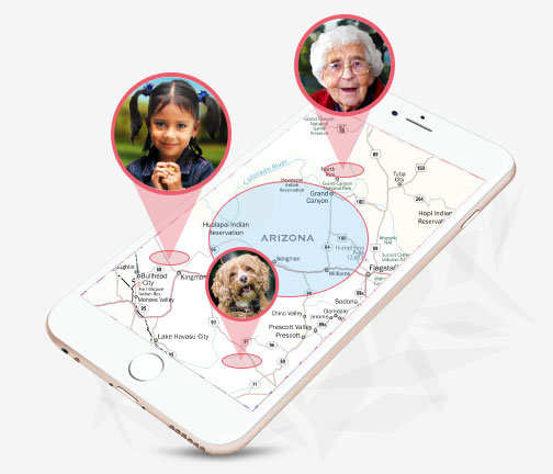 GPS Personal Family Tracker