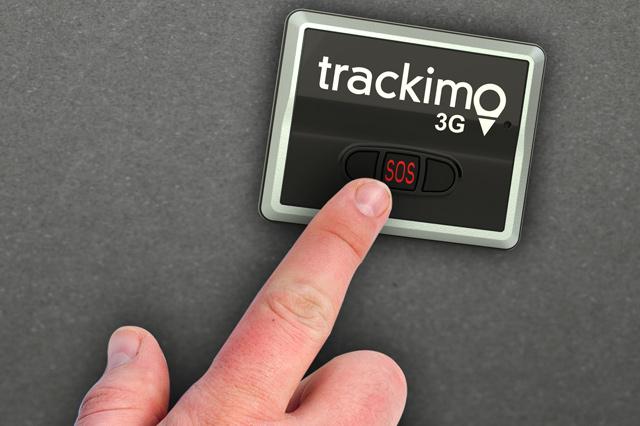 SOS Button in GPS