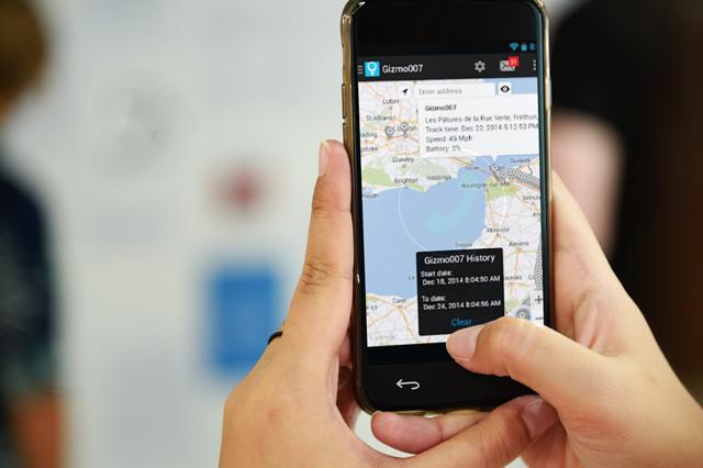 Trackimo Application