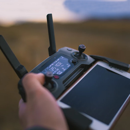 Drone Without a Tracker