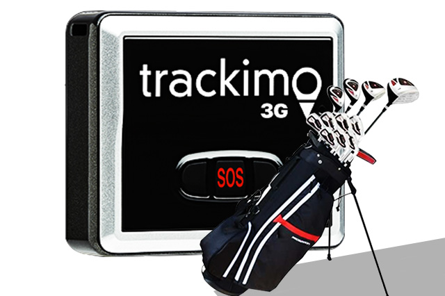 Golf Equipment with GPS Tracker
