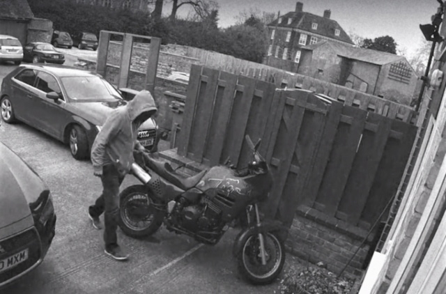 Spotted Motor Cycle Theft