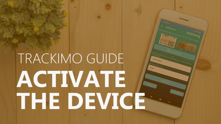 Trackimo - Activate Device