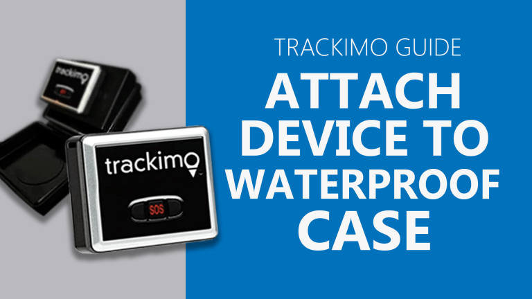 Trackimo - Attach Device to WP Case