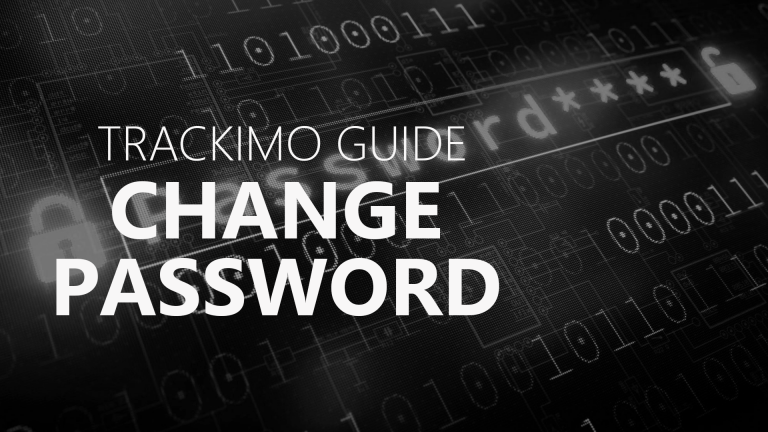 Trackimo - Change Password