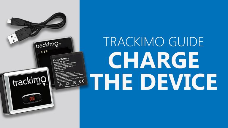 Trackimo - Charge the Device