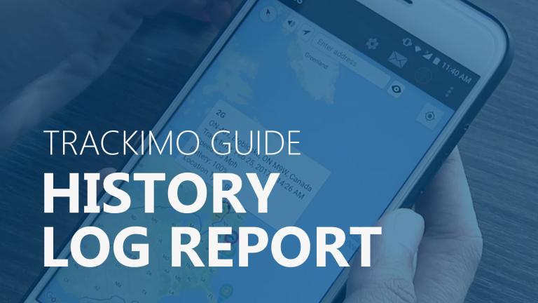 Trackimo - History Log Report