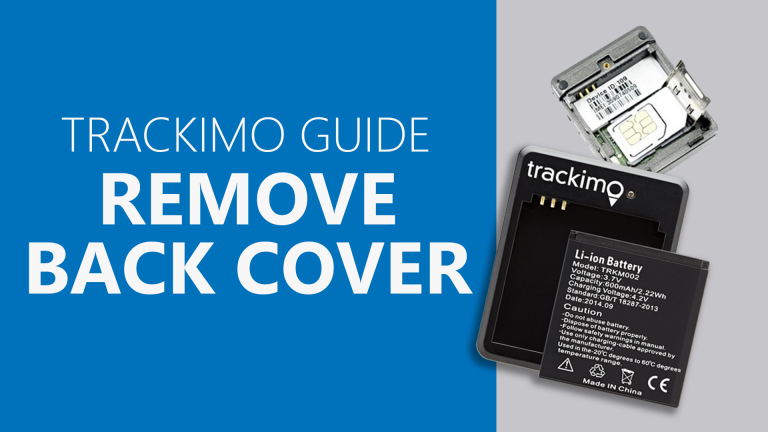 Trackimo - Remove Back Cover