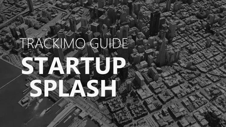 Trackimo - Startup Splash