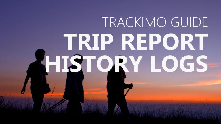 Trackimo - Trip Report History Logs