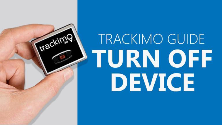 Trackimo - Turn Off Device